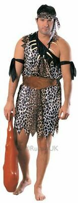 £15.99 • Buy SALE! Adult Jungle Tarzan Caveman Mens Fancy Dress Stag Party Costume Outfit