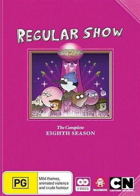 Regular Show : Complete Season 8 - DVD - Brand New / SEALED - Region 4 • 12.64£