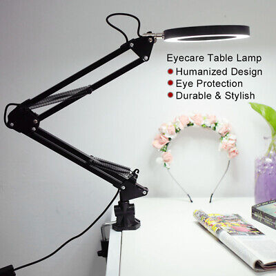 Foldable Eyecare Table Lamp Flexible Swing Arm Clamp Desk Tattoo Lamp USB Device • 11.43£