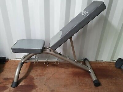 York Fitness Flat/Incline Bench With Dumbell Rack - Delivery Possible • 175£