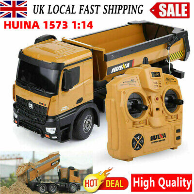 £68.40 • Buy HUINA 1573 1:14 RC Kids Excavator Construction Vehicle Truck Toy Car Toys+Remote