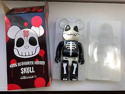 $135 • Buy Horror Skull BE@RBRICK 400% Comic Con 2005 Limited EUC Display Only BEARBRICK
