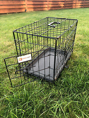 £17.49 • Buy Stately Pets Dog Cage Puppy Training Crate Pet Carrier Cages