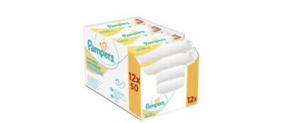 Pampers New Baby Sensitive Baby Wipes X 12 Multipak • 29.99£