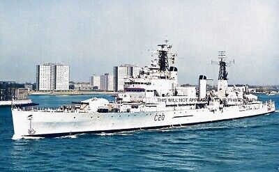 Royal Navy Cruiser Hms Tiger (c20) And Her Travels Around The World - 10 Photos • 7.99£