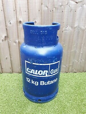 An Empty Calor Gas 12kg Butane Bottle For Exchange  • 10£