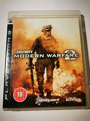 Call Of Duty: Modern Warfare 2 (PS3) Complete With Manual - Tested • 4.50£