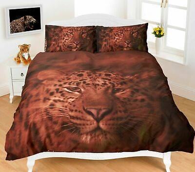 AU36.82 • Buy 3D Duvet Cover Set Animal Design Print Quilt Single Double King Super King Size