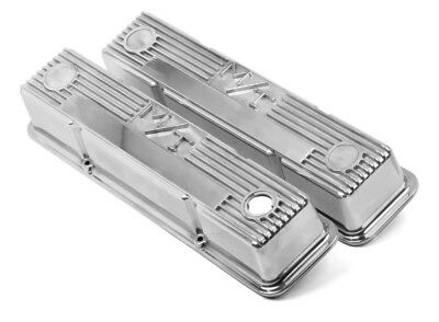 $248.69 • Buy Holley 241-82 Valve Covers M/T Mickey Thompson Tall SBC Small Block Chevy 350