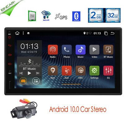 AU228.94 • Buy Android 10.0 Bluetooth Head Unit Car Stereo 7 Inch Touch Screen Autoradio 2 Din