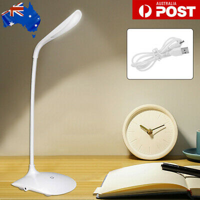 AU9.99 • Buy Touch LED Desk Lamp Bedside Study Reading Table Light USB Ports Dimmable AU