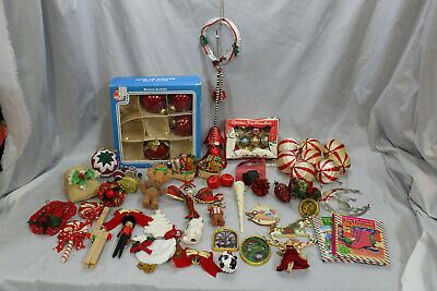 $ CDN30 • Buy Vintage Christmas Ornament Lot/Bundle. Includes Manufactured And Handmade Items