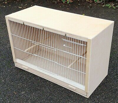 £35 • Buy Single Budgie Breeding Cage  25  X 15 X 12 With 2 Door Front