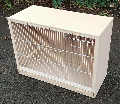 £37 • Buy Single Budgie Breeding Cage  25  X 18 X 12 With 2 Door Front