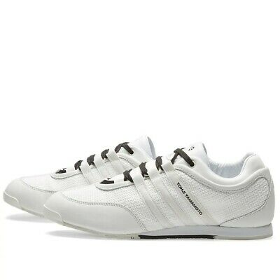 Mens Y-3 Boxing White / Black Trainers • 179.95£