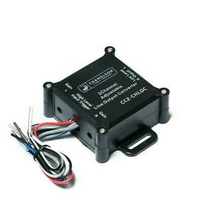 2 Channel Line Output Converter With Remote Turn On • 12.99£