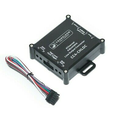4 Channel Line Output Converter With Remote Turn On • 15.99£