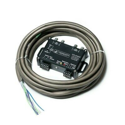 2 Channel Line Output Converter Line Driver With 5m Contact Cable And H. Shrinks • 26.99£