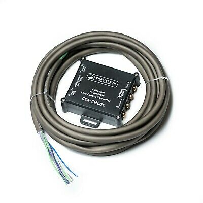 4 Channel Line Output Converter Includes 5m 9 Core Contact Cable And Heat Shrink • 25.99£
