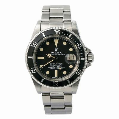 $ CDN14666.48 • Buy Rolex Submariner 1680 Men Automatic Vintage Unpolished Watch 4.4 Serial 40mm