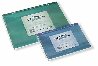 Daler Rowney Langton Spiral Watercolour Pad (254 X 178mm) NOT • 8.38£