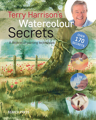 Terry Harrison's Watercolour Secrets Book • 8.61£