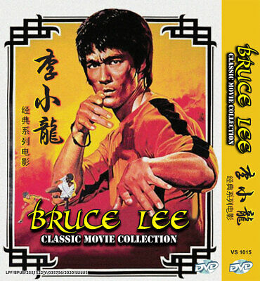 £22.88 • Buy Dvd Chinese Live Action Bruce Lee Classic Movie Collection Region All Eng Subs