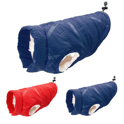 £6.89 • Buy Small Dog Coats For Winter French Bulldog Clothes Puppy Pet Warm Fleece Jackets