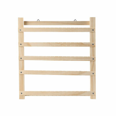 1PC Wooden Earring Necklace Hanging Display Rack Jewelry Organizer Stand Holder • 18.13£