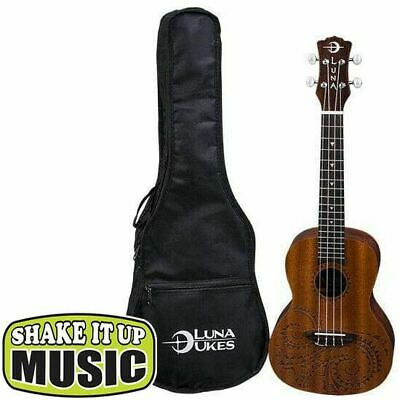 AU199 • Buy Luna Tattoo Concert Ukulele With Bag