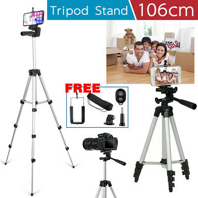 AU15.59 • Buy Adjustable Camera Tripod Mount Stand Holder For IPhone 12 11 Pro Max XS Samsung