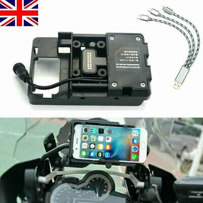 £19.99 • Buy Navigation GPS Phone Mount Holder USB Charger For BMW R1250GS F1200GS LC/ADV MU