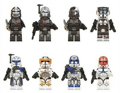 Bad Batch. Star Wars Mini-figures. Lego Compatible - NEW - Posted From U.K. • 13.99£
