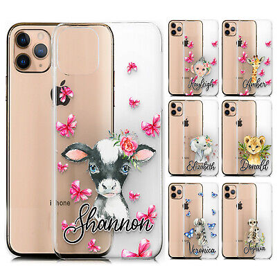 AU10.80 • Buy Personalised Phone Case For Xiaomi/oppo, Initial Cow Print Clear Hard Cover