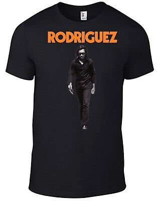 RODRIGUEZ T-shirt Walking Sixto Searching For Sugar Man Cold Fact Cd Dvd Vinyl B • 12.50£