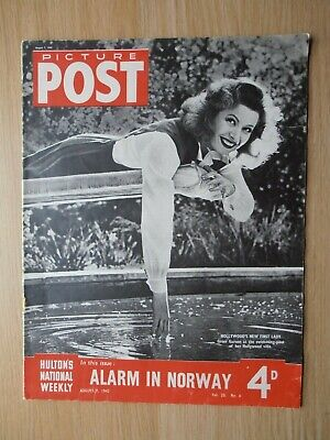 Vintage Picture Post Magazine - 7 August 1943 - Vol.  No. 6 • 6.99£