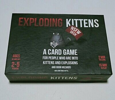AU19.99 • Buy Exploding Kittens NSFW Edition Card Game Adults Christmas Gift Stocking Stuffer