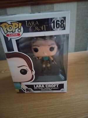 Pre-owned Funko Pop Games Lara Croft #168, Boxed • 24.99£