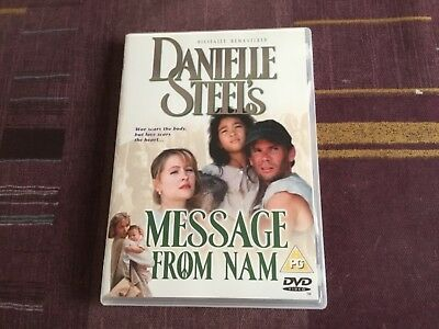 "Danielle Steel's ""Message From Nam"" DVD • 3£"