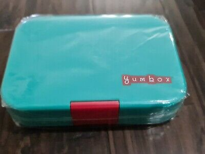 AU26.07 • Buy Yumbox Leakproof Bento Lunch Box Container Aqua Turquoise Blue Green New Sealed