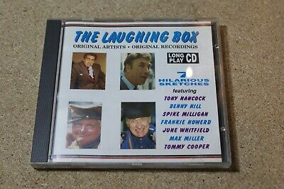 THE LAUGHING BOX Various (CD) Tony Hancock, Benny Hill, Spike Milligan • 1.75£