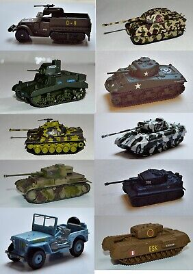 $18.50 • Buy Corgi Military Legends In Miniature Die Cast Military Vehicles WWII