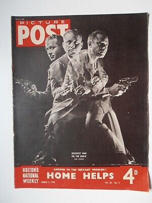 Vintage Picture Post Magazine - 2 March 1946 - Vol. 30 No. 9 • 5.99£