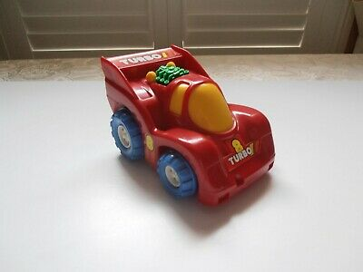 Vintage  Turbo 8  Push-along Toy Racing Car For Small Child/Toddler • 2.99£