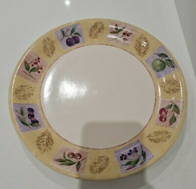 Marks & Spencer M&S Home WILD FRUITS Large Plate 28cm 11 Inch • 4.95£