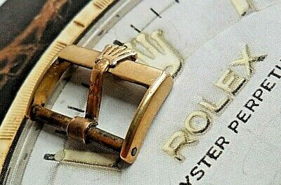 $ CDN26.72 • Buy Hard To Find Vintage Men's Rolex Gold Plated 16 Mm Watch Band Buckle