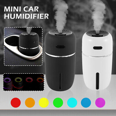 AU18.99 • Buy Aroma Aromatherapy Diffuser LED USB Essential Oil  Air Humidifier Mini Purifier