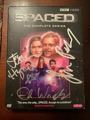 £218.22 • Buy Spaced Signed Autograph Complete Series DVD Simon Pegg Edgar Wright Jessica Hyne