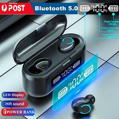 AU22.69 • Buy Bluetooth 5.0 Wireless Earphones Earbuds Headphones Headsets For IPhone Samsung