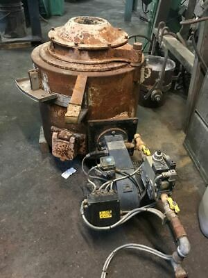 Morgan Brass Gas Fired Bale Out Furnace / Foundry • 1,300£